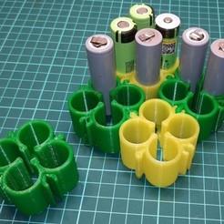Télécharger fichier STL gratuit 18650 Boîte à puzzle • Objet pour impression 3D, alexlpr