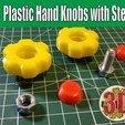 Descargar modelo 3D gratis Pomos manuales de plástico con tornillos de acero, alexlpr