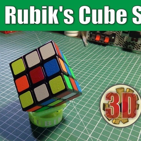 79154ef281e5c2bb657b04850f00cade_display_large.jpg Download free STL file Rubik's Cube Stand • 3D printer object, alexlpr