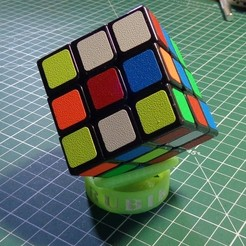 Download free 3D print files Rubik's Cube Stand, alexlpr