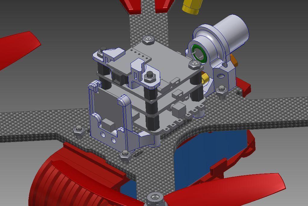 1f438b1d7df05a092b62dc2b760a5925_display_large.jpg Télécharger fichier STL gratuit Realacc X210 pod (qav-x). Racing Quad N!PodWE • Modèle imprimable en 3D, alexlpr