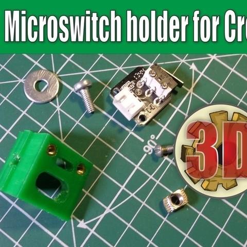 Télécharger fichier STL gratuit Support de microrupteur pour Creality 3D • Modèle pour imprimante 3D, alexlpr