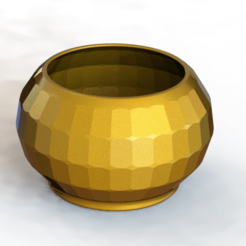 Flower_Pot_02.png Download free STL file Flower Pot #02 • 3D printing design, alexlpr