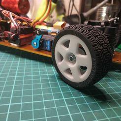 IMG_20200908_095237.jpg Download free STL file RC Car Wheel • 3D printing template, alexlpr