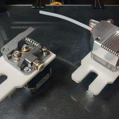 first.jpg Télécharger fichier STL gratuit Attache pour le remplacement rapide de l'extrudeuse (ender, CR10, CR10S) • Modèle à imprimer en 3D, alexlpr