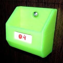 Télécharger objet 3D gratuit Bacs de rangement muraux, alexlpr