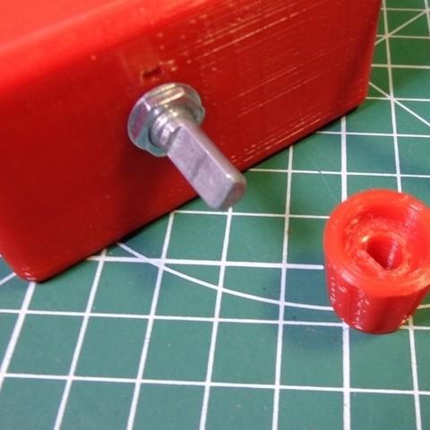 Télécharger modèle 3D gratuit Bouton pour résistance variable, alexlpr