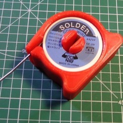 Download free 3D printer templates Solder Reel Stand, alexlpr