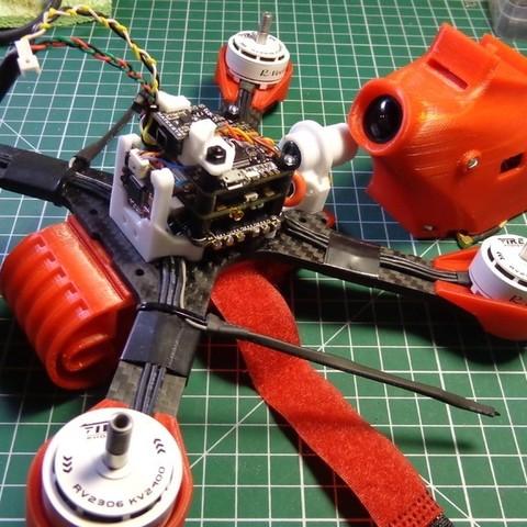 254148fe0ac734898928b34a635d1068_display_large.JPG Télécharger fichier STL gratuit Realacc X210 pod (qav-x). Racing Quad N!PodWE • Modèle imprimable en 3D, alexlpr