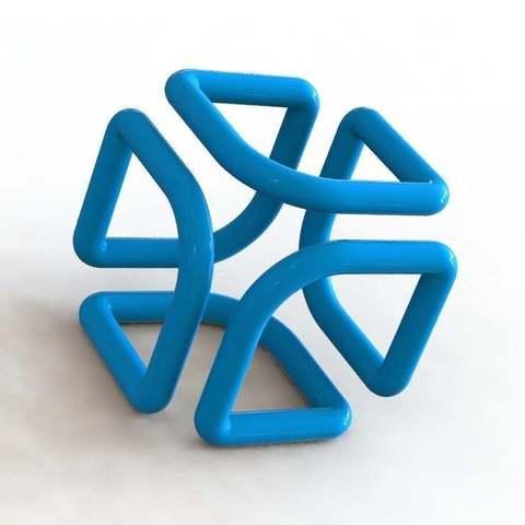 Télécharger fichier STL gratuit Cube filaire • Plan à imprimer en 3D, alexlpr