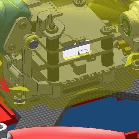 f5556ba896a3a4a2e788eb819e8745ed_display_large.jpg Télécharger fichier STL gratuit Realacc X210 pod (qav-x). Racing Quad N!PodWE • Modèle imprimable en 3D, alexlpr