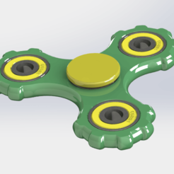 spinner_02-01.png Download free STL file Fidget Spinner #02 • 3D printing design, alexlpr
