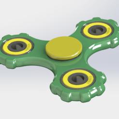 Download free STL Fidget Spinner #02, alexlpr