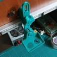 IMG_20191114_184906.jpg Télécharger fichier STL gratuit Supports de caméra pour votre Home Studio (YI, YI 4K) • Modèle pour impression 3D, alexlpr