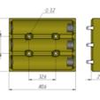 3.png Télécharger fichier STL gratuit 18650 3S Supports / Chargeurs • Objet pour imprimante 3D, alexlpr