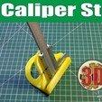 Free 3D printer model Caliper Stand, alexlpr