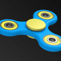 spinner_01-01.png Download free STL file Fidget Spinner #01 • 3D printer design, alexlpr