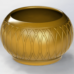 Download free 3D printing templates Flower Pot, alexlpr