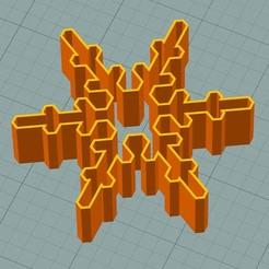 sf3.JPG Download STL file Snowflake cookie cutter • Object to 3D print, 3deye