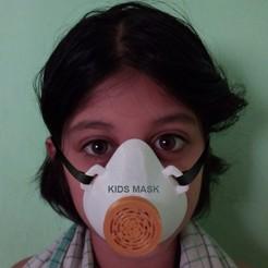 Imprimir en 3D Máscara para niños, 3deye