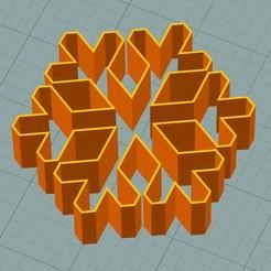 sf1.JPG Download STL file Snowflake cookie cutter • Object to 3D print, 3deye