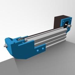 4.jpg Télécharger fichier STL 2040 mema17 stepper Support moteur avec tension de courroie • Plan imprimable en 3D, 3deye