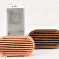 Télécharger modèle 3D HAUT-PARLEUR DE TÉLÉPHONE IPHONE SPEAKER, flyfish