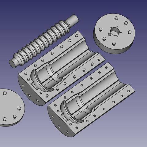 Free 3D printer model pokus, makixf