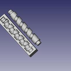 Free 3D printer files nový střed pro pokus, makixf