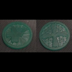 3D printer files FATE campaign coins, scovron