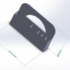 Support Br a dent.JPG Download free STL file Bathroom support, storage • 3D print template, sebouseneca3n