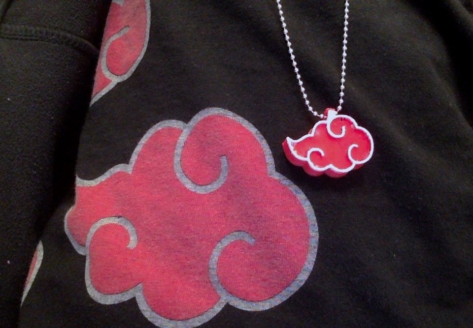 897c11e55ed097c07f523dc280b94a69_display_large.jpg Download free STL file Akatsuki Cloud Necklace/Keychain • 3D print design, sh0rt_stak