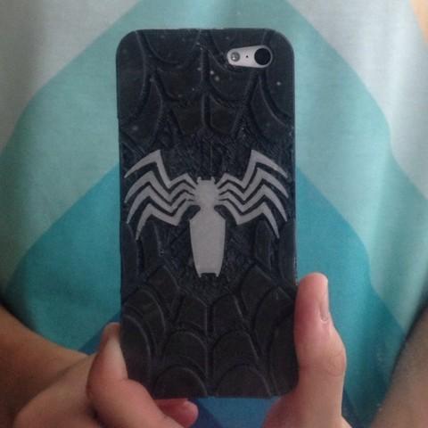 Download free 3D printer model Venom iPhone 5C Case, sh0rt_stak