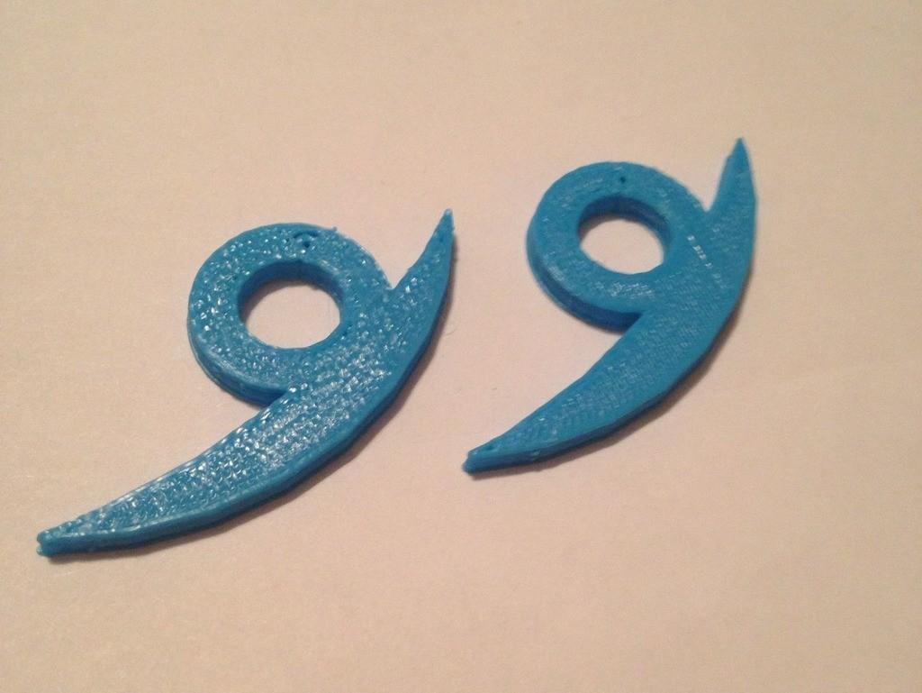 photo_display_large.jpg Télécharger fichier STL gratuit Boucles d'oreilles Orochimaru • Modèle pour impression 3D, sh0rt_stak