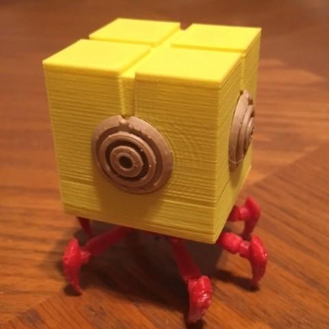 Download free 3D printer designs Code Lyoko Xana Blok, sh0rt_stak
