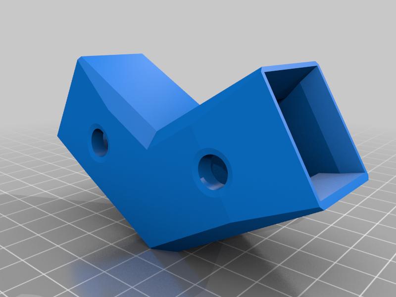 SINGLEHexagonal_20x20framecorners.png Télécharger fichier STL gratuit Encadrements hexagonaux 20x20 • Objet pour imprimante 3D, Henry_Millenium