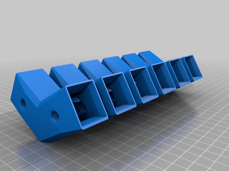 MULTIHexagonal_20x20framecorners.png Télécharger fichier STL gratuit Encadrements hexagonaux 20x20 • Objet pour imprimante 3D, Henry_Millenium