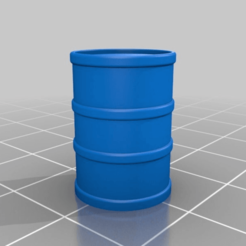 Download free STL file OilBarrel V2 • 3D print model, Henry_Millenium