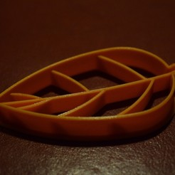 001_release_R2P.jpg Download free STL file Leaf Cookie Cutter • 3D printable template, Henry_Millenium