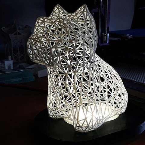 Free 3D printer files West Highland White Terrier Voronoi, fabricator4
