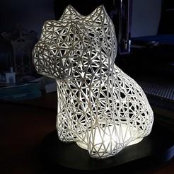 Free 3D printer files West Highland White Terrier Voronoi, fabricator4