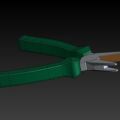 Télécharger objet 3D gratuit Pince pour le montage des clips de visière covid 19, protofast