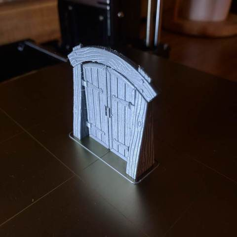 fed5b281aa65b6182f5de8b9a39ffdb2_display_large.jpg Download free STL file Wood Dungeon Door - Hinged, Open/Closed, & Slide In • 3D printing model, RobagoN
