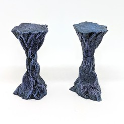 Robagon_RockColumns.jpg Download STL file Rock Column for Gloomhaven • Model to 3D print, RobagoN