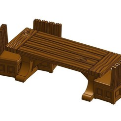 Free 3D printer designs Table for Gloomhaven, RobagoN