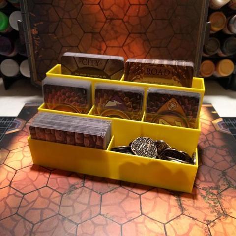 Download free 3D printer templates Deck Organizer for Gloomhaven, RobagoN