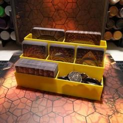 Download free 3D printer templates Deck Organizer for Gloomhaven, RobagoN