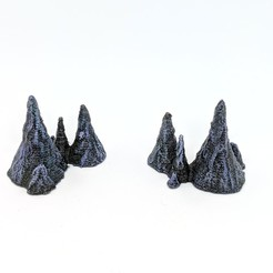 Free STL file Stalagmites for Gloomhaven, RobagoN