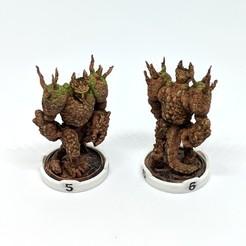 Download free 3D printer model Gloomhaven Monster - Earth Demon, RobagoN