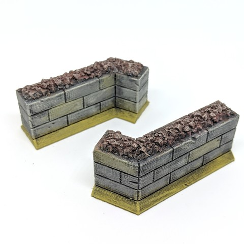 Download free 3D printing files Wall Section for Gloomhaven, RobagoN